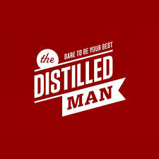 distilled man logo